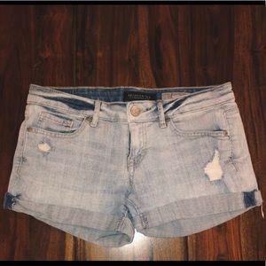 Aeropostale Women's Distressed Jean Shorts